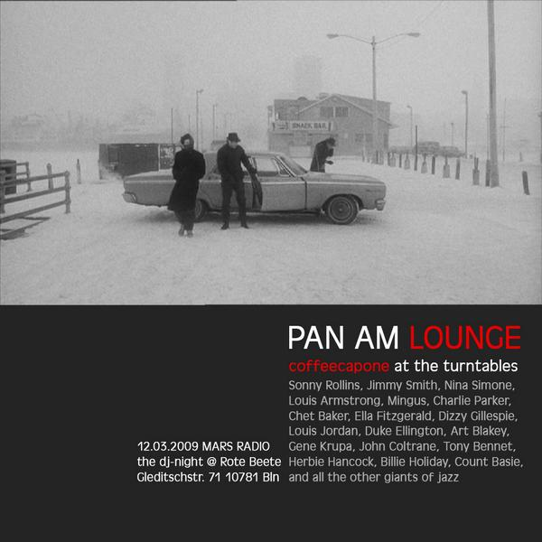 coffeecapones Pan Am Lounge am 12.03.2009 designed by Designjockey