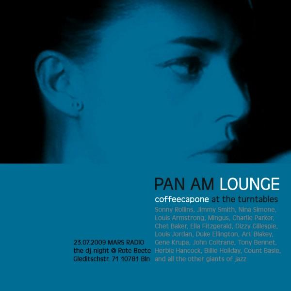 coffeecapones Pan Am Lounge am 23.07.2009 designed by Designjockey