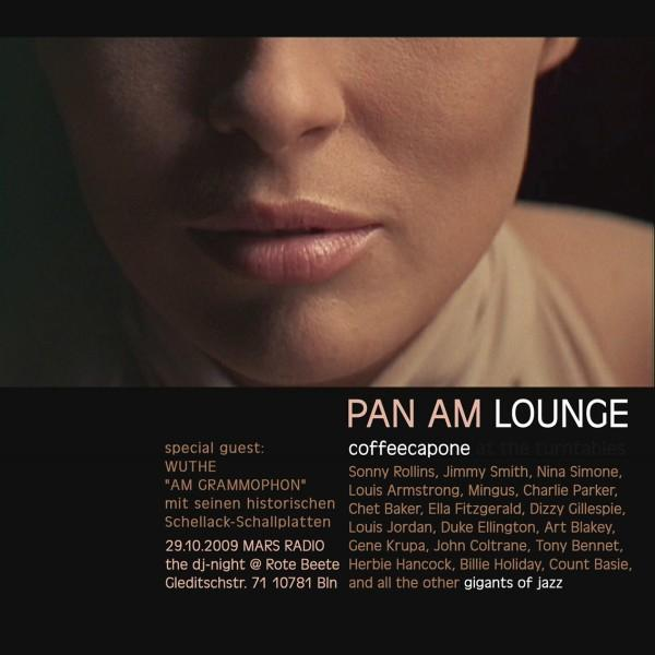 coffeecapones Pan Am Lounge am 29.10.2009 designed by Designjockey