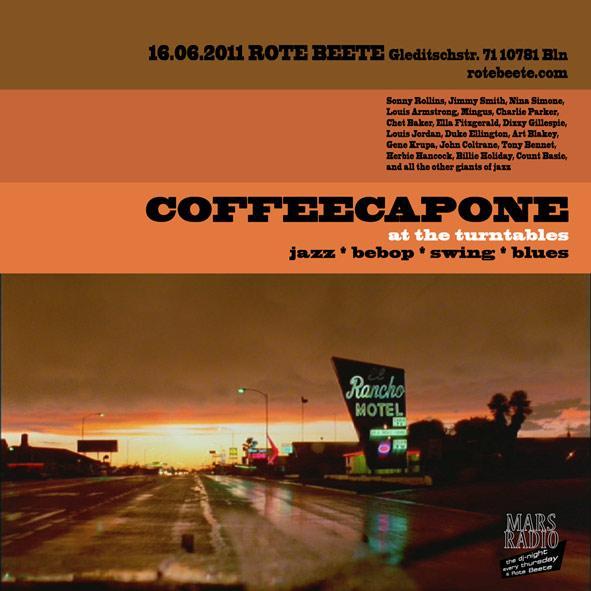 flyer von coffeecapone @ Rote Beete am 16.06.11