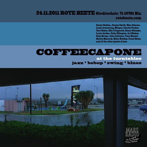 flyer von coffeecapone @ Rote Beete am 24.11.11