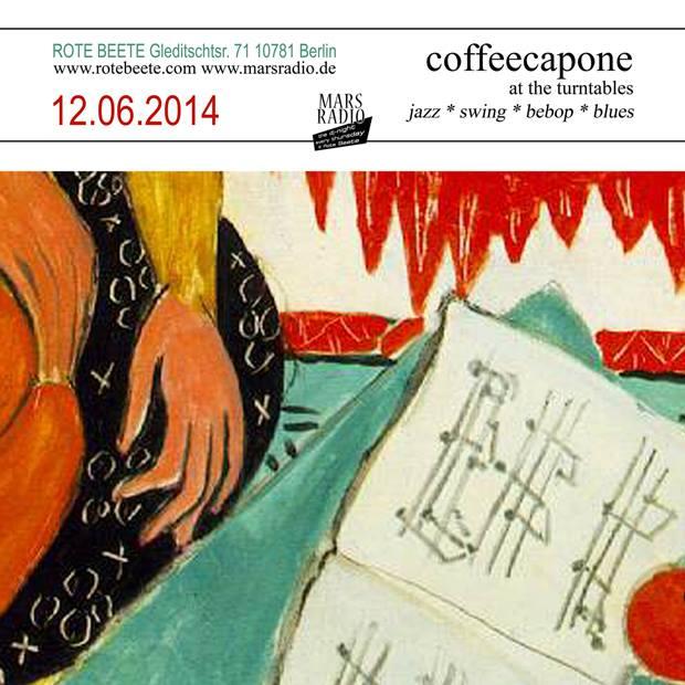 flyer von coffeecapone @ Rote Beete am 12.06.14