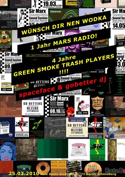 gREEN sMOKE tRASH pLAYERS am 25.03.2010 designed by Designjockey