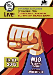 19.01.2013 | We Have A situation @ MIO |live| Flyer design by designjockey